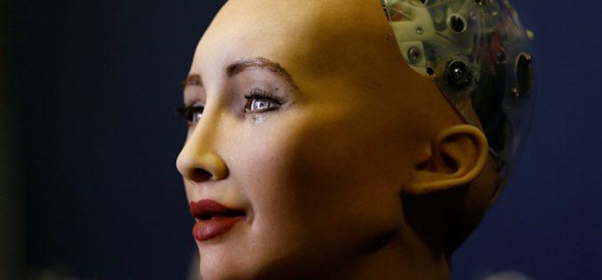 Սոֆիա ռոբոտը TUMO-ում է (տեսանյութ)