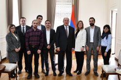 ՀՀ նախագահը ընդունել է Sevan startup summit 2018-ի մասնակիցներին