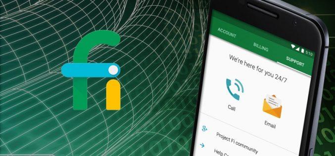 Google Fi մատչելի օպերատորն այժմ համատեղելի է iPhone-ի հետ