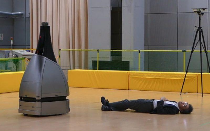Perseusbot. ռոբոտ անվտանգության աշխատակիցը Պեկինի Օլիմպիադայի համար