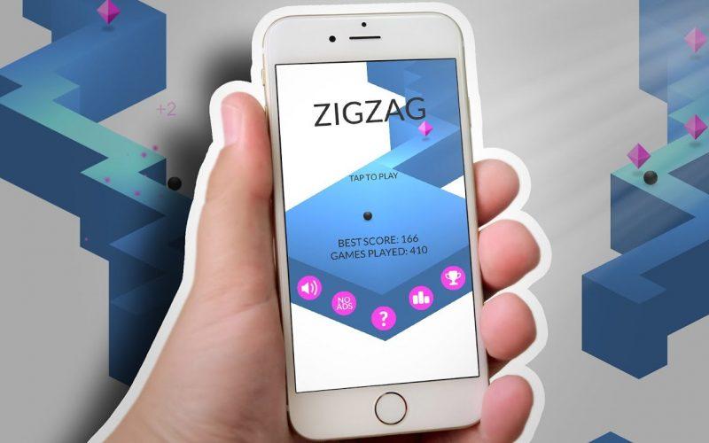ZigZag. խաղ ոչ նյարդային գեյմերների համար