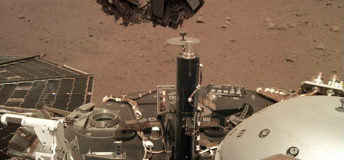 InSight մարսագնաց արբանյակն առաջին սելֆին է արել Մարս մոլորակից