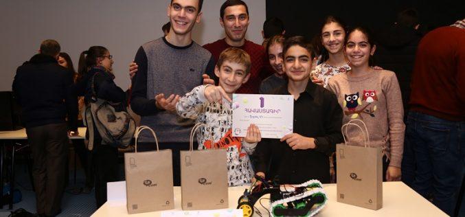 «Արմաթ» համահայկական կրթական ցանցի սաները մրցել են եռաչափ մոդելավորման մրցույթում