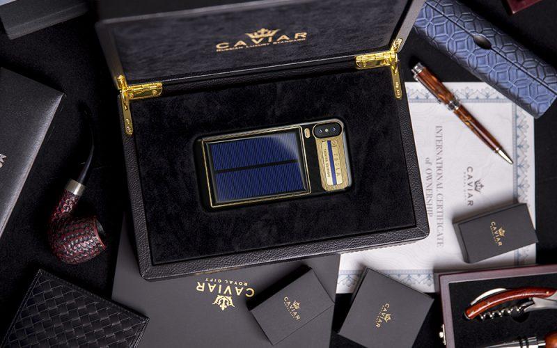 Caviar-ը արևային պանելով iPhone է թողարկել