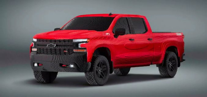 Chevrolet-ի մասնագետները լեգոյից իրական չափերի ամենագնաց են հավաքել