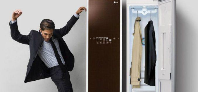 LG Styler . նոր տեխնոլոգիա հագուստի խնամքի համար