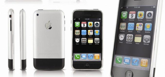 Ոճ, մինիմալիզմ, ճաշակ. հունվարի 9-ին թողարկվել է առաջին սերնդի iPhone-ը