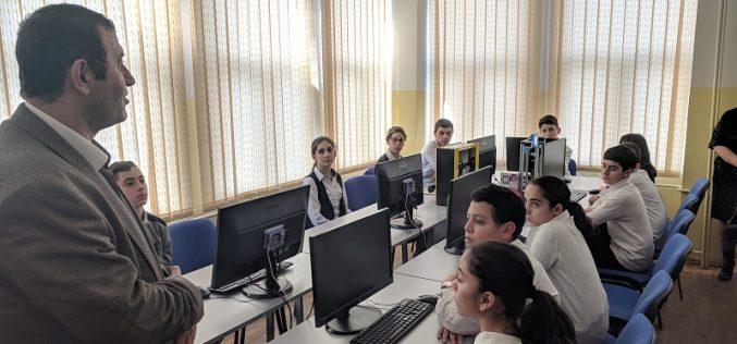 Երևանի թիվ 155 դպրոցը միացավ «Արմաթ» ինժեներական լաբորատորիաների ցանցին