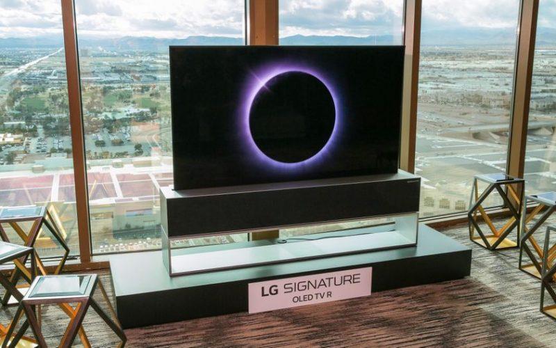 LG-ին ծալվող էկրանով հեռուստացույցները վաճառքի կհանի   2019-ին