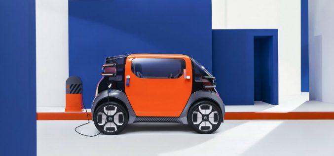 Citroen-ը ներկայացրել է փոքր չափերի էլեկտրական մեքենա