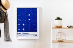 Weather Poster․ երբ տեղյակ եք եղանակից
