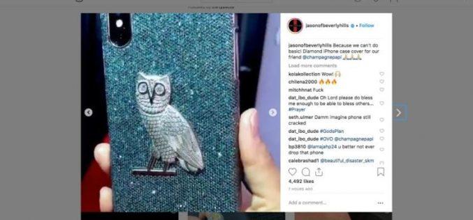 Կապույտ ադամանդով  400 հազար դոլար արժողությամբ պատյան  iPhone-ի համար
