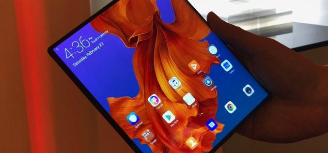 Ճկվող և թանկարժեք սմարթֆոն Huawei-ից