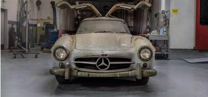 Mercedes-Benz-ը ցույց է տվել, թե ինչպիսի տեսք ունի 60 տարի ավտոտնակում մնացած լեգենդար մեքենան