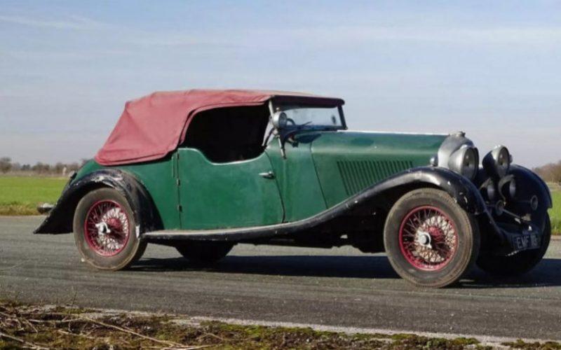 30 տարի ավտոտնակում անցկացրած Bentley-ն վաճառվել է 450 000 ֆունտ ստերլինգով