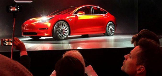 Ներկայացվել է Tesla Model 3-ի ամենամատչելի տարբերակը