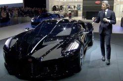 Bugatti-ն Ժնևի ցուցահանդեսում ներկայացրել է ամենաթանկարժեք մեքենան