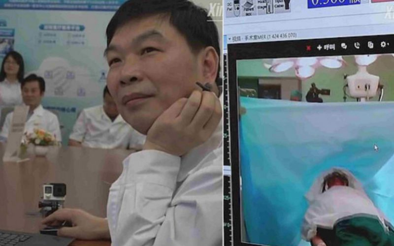 5G-ի միջոցով բժիշկները հեռահար գլխի բարդ վիրահատություն են իրականացրել
