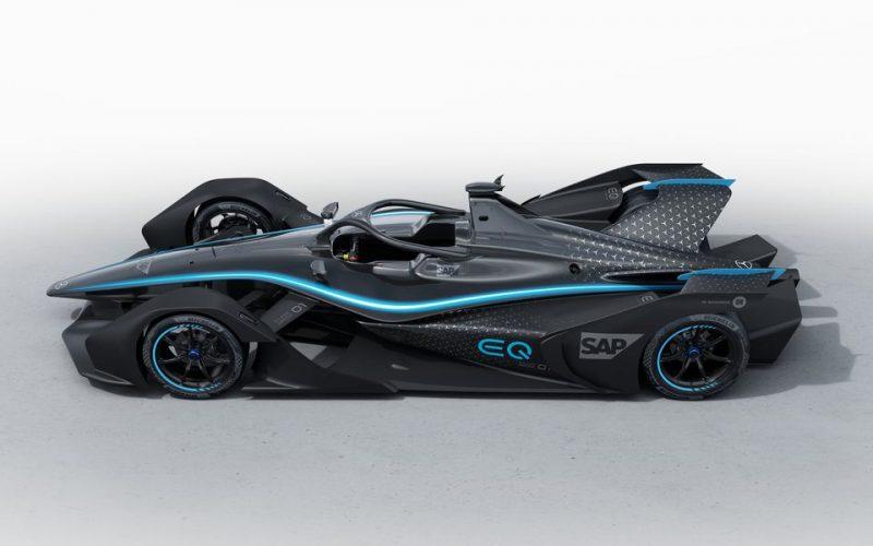 Mersedes-Benz-ը մրցաշարային էլեկտրամեքենա է ստեղծել