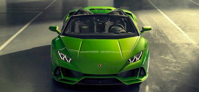 Ներկայացվել է 287 հազար դոլար արժողությամբ նոր Lamborghini Huracán Evo Spyder-ը
