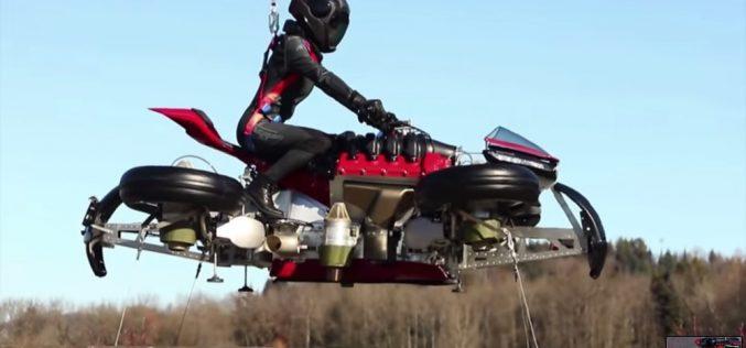 Lazareth ֆրանսիական ընկերությունը թռչող մոտոցիկլ է ներկայացրել