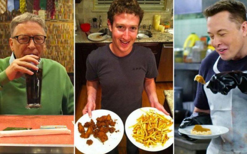 Հարուստ և խելահեղ․ ի՞նչ են նախընտրում ուտել ՏՏ ոլորտի հայտնի ներկայացուցիչները