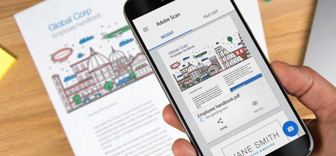 Adobe Scan հավելվածն այցեքարտերը կվերածի կոնտակտային տվյալների