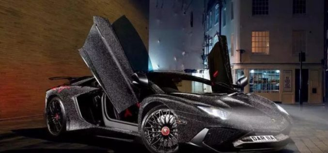 Ներկայացվել է 2 մլն Swarovski բյուրեղներով պատված Lamborghini Aventador-ը