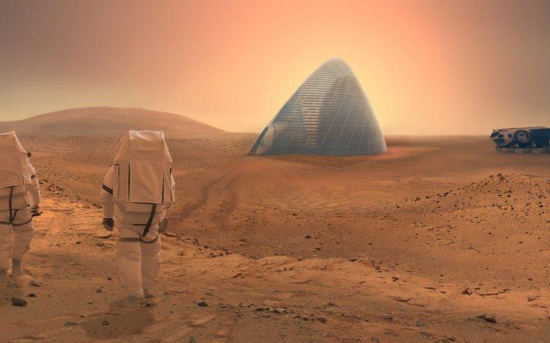 Սողանքի բացառիկ լուսանկար Մարսից