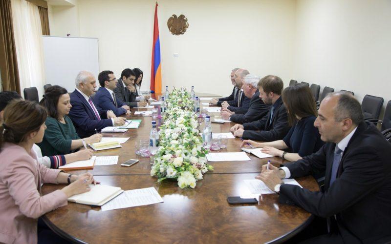 Հայաստանն ու գերմանական Fraunhofer ընկերությունը քննարկել են համագործակցության վերաբերյալ հարցերը