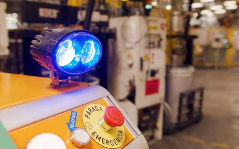 Ford-ի ռոբոտը օգնում է մարդկանց գործարանում (տեսանյութ)