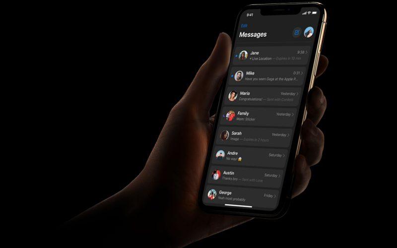 Ցանցում հայտնվել են iOS 13-ի սև թեմայի լուսանկարները