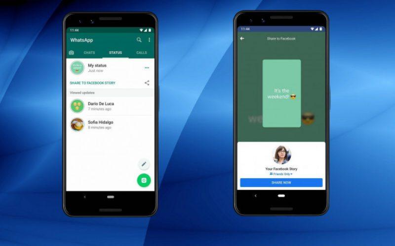 WhatsApp-ը թույլ կտա ստատուսները repost անել Facebook Story-ում