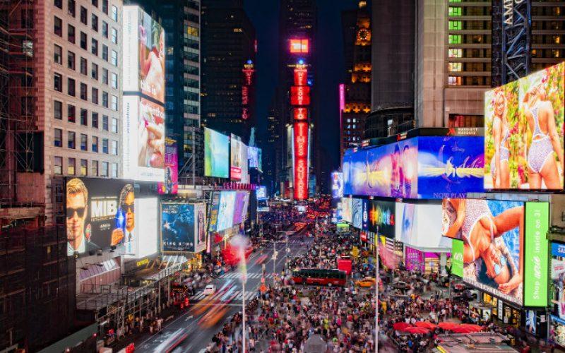 New York-ում տեղադրել են Samsung-ի մեծ էկրաններ