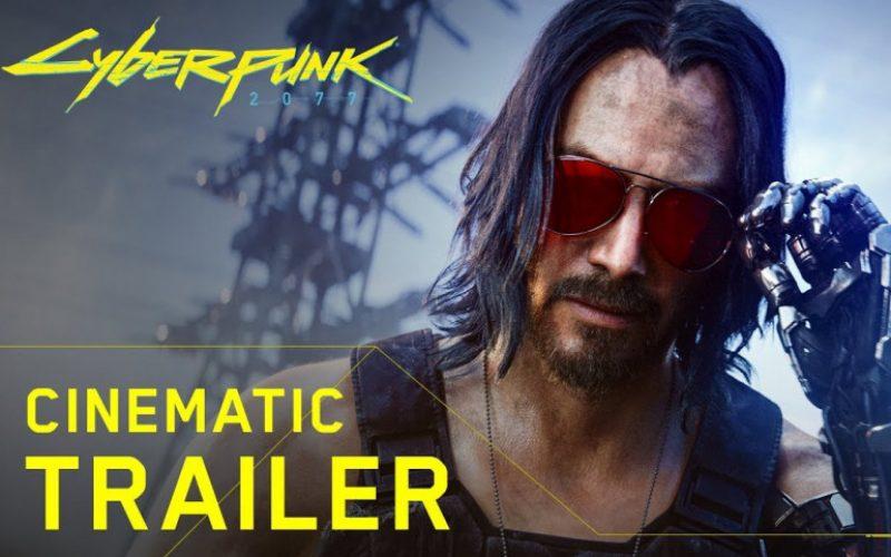 Կիանու Ռիվզը դարձել է Cyberpunk 2077 համակարգչային խաղի հերոս