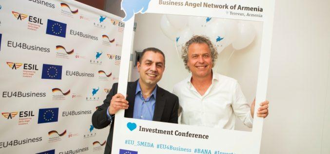 Եվրոպացի ներդրողները Երևանում են․ կայացավ բիզնես հրեշտակների կոնֆերանսը
