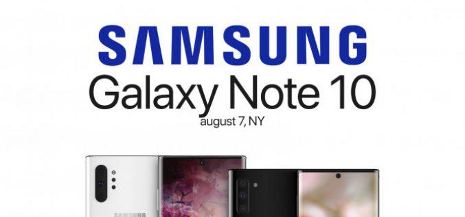 Հայտնի է, թե երբ կթողարկվի Samsung Galaxy Note 10-ը