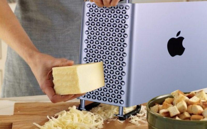 Բլոգերներից մեկը փորձել է պանիր քերել նոր Mac Pro-ով (տեսանյութ)