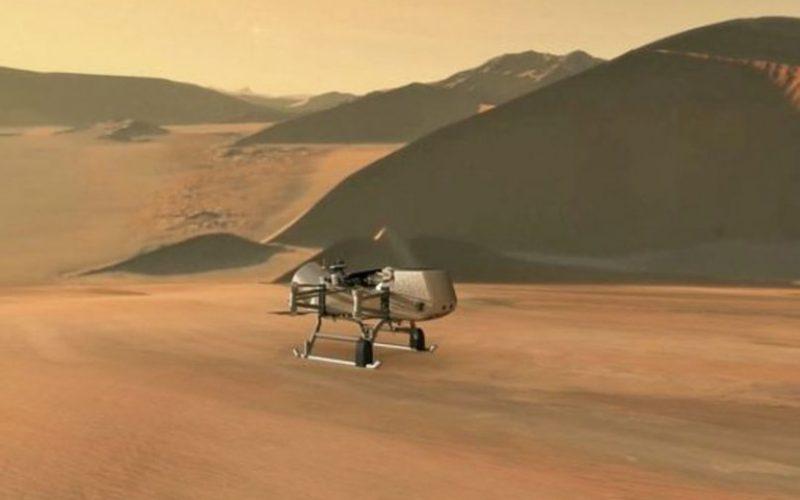 ՆԱՍԱ-ն անօդաչու ուղղաթիռ է ուղարկելու դեպի Սատուրնի լուսին