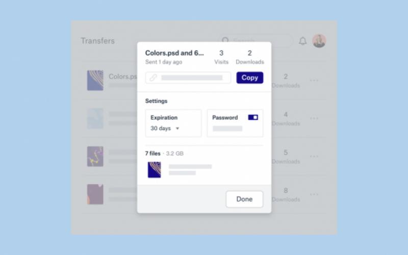 Dropbox-ում հնարավոր կլինի փոխանցել մինչև 100 գբ ծավալով ֆայլեր
