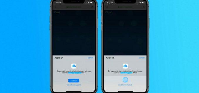 iCloud-ում հնարավոր կլինի գրանցվել Face ID կամ Touch ID միջոցով