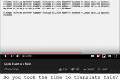 Apple-ը գաղտնի հաղորդագրություն է թողել նոր պրոդուկտների շնորհանդեսի տեսահոլովակում