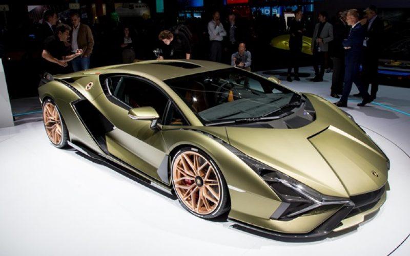 Lamborghini-ն ներկայացրել է իր առաջին  հիբրիդային Sian մոդելը(լուսանկարներ)