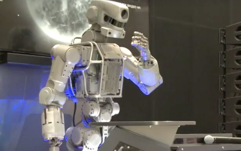 Ֆյոդոր անունով ռոբոտը   «միայնակ» չի մնա