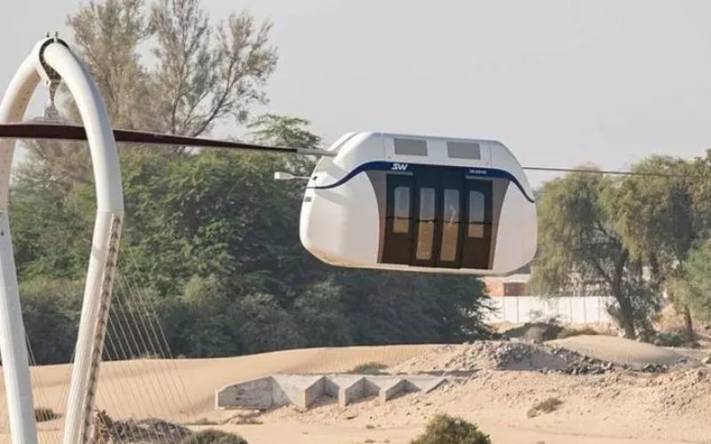 Շարժայում «թռչող» տրամվայ են գործարկել