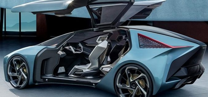 Lexus-ը ներկայացրել է ապագայի էլեկտրոմոբիլը