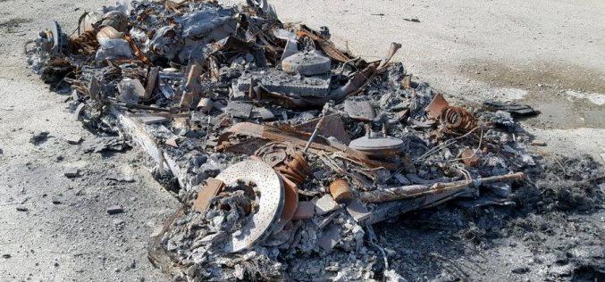 ԱՄՆ-ում աճուրդի է հանվել ամբողջովին այրված Ferrari-ն