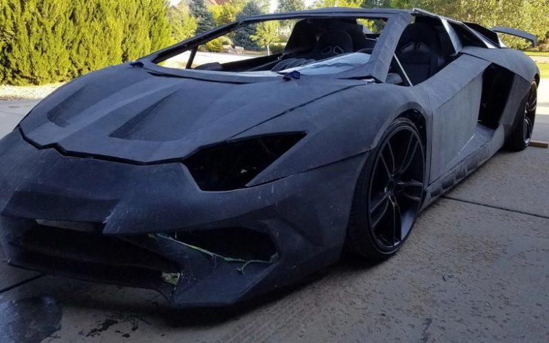 Lamborghini-ին  կրկնօրինակվել է 3D տպիչի օգնությամբ