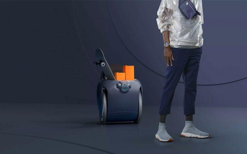 Gita ճամպրուկ-ռոբոտն ամենուր   կհետևի իր տիրոջը