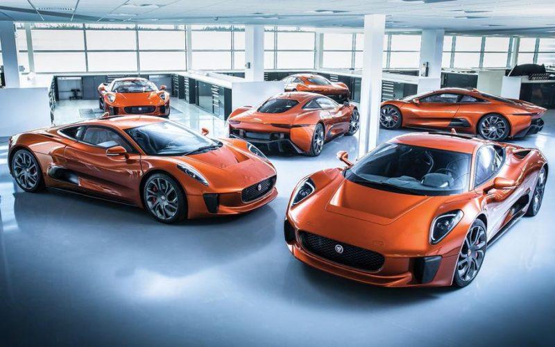 Ջեյմս Բոնդի մասին պատմող ֆիլմում նկարահանված 4 Jaguar-ներից  մեկը աճուրդի կհանվի